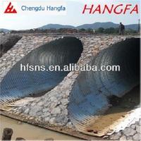 splice large diameter corrugated steel pipe