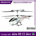 2.4g 3.5ch 93cm grande de control remoto rc helicóptero con el girocompás& llevó la luz