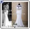 RSW424 Long Sleeve Lace Patterns Mermaid Wedding Dresses China