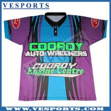 Polyester dri fit sport polo shirt