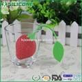 Fda 2015/lfgb forma frutas pcq-03 silicone infusor de chá