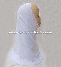 pure white Long Chiffon Scarf soft chiffon Wrap pashmina