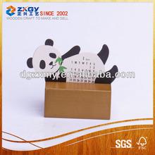Menu wooden base ,Standing Calendar Wooden Base ,wooden holder