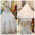 YWD11151 Stunning Fitted And Flare Sleeveless Pakistani Fancy Wedding Dresses Turkey Istanbul