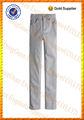 Meninos skinny moda tendência 100% branco denim calças jeans