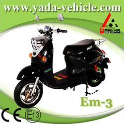 yada em3 48v 800w brushless PMDC 20ah lead-acid drum brake mini electric motorcycles