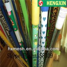 painting Low price metal broom handle with Natural thread/metal thread/ metal broom Handle