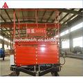 tesoura mobile plataforma de elevação hidráulica