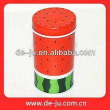 Wholesale Watermelon Printing Red Toothpicks Holders Tooth Picks Jar