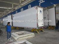 Aluminium/Stainless Steel/frp/american truck body cargo van body/thermal truck body for sale