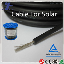 Cable For Solar Panel 100meter/Roll Red & Black pv 10mm2 solar cable solar thermal panel