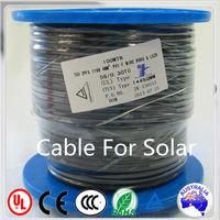 PV1-F TUV-Zert R50203088 solar energy cable 2x4.0mm2 monocrystalline solar cell 156x156