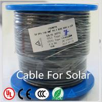 Australia Standard PV1-F two core 4mm2 solar cable solar steam generator