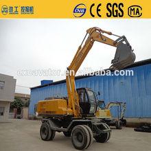 Jg-130 13 ton ruota terne idraulico escavatore in vendita