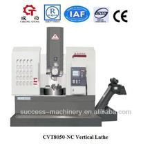 CVT8050-NC CNC VTL Vertical lathe machine China cnc vertical lathe machine