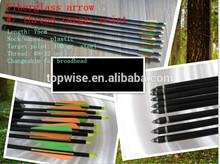 Good Quality Of Fiberglass Arrow For Compound Bow Wholesale 2014