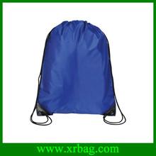 Reusable nylon foldable drawstring shopping bags