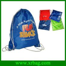 fashion recycled nylon drawstring bags