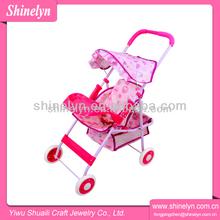 Shinelyn rosa fame e tecido dobrável fechaduras do cofre 4 rodas OEM de fato assento de carro