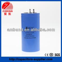 Non Polar Electrolytic Capacitor CD60 500UF 220V 1000UF 220V