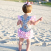 Wholesale fashion baby clothes ruffled baby rompers, bubble baby romper