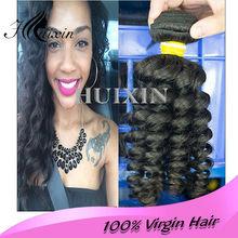 wholesale 6A 100% curly virgin malaysian human hair