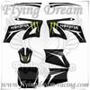 TTR& monster 3M sticker/ grahic pit bike parts &dirt bike parts&mini moto parts