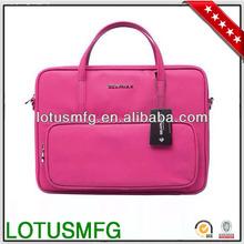 Leather laptop/briefcase shoulder bags case for apple macbook briefcase