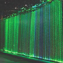 offering wholesale PMMA plastic fiber optic waterfall light curtain