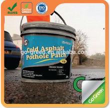L'entretien des routes produit froid enrobés / pothole réparation à froid asphalte
