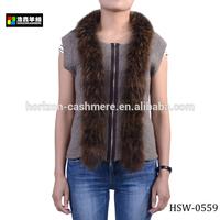 Fashion Ladies Alpaca Fur Vest