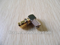 new products female bulkhead angle 1.6/5.6 rf connector l9 for Flex-3 cable