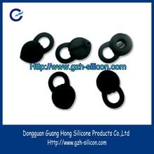 Custom silicone earphone suction cup