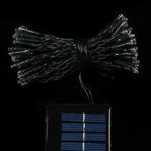 led solar light led christmas light 100L LED solar string light