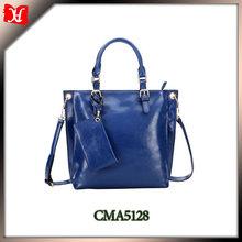 Hot sale! lady fashion genuine leather hand bags