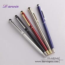 China best selling metal ballpoint touch screen pen stylus pen