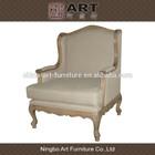 Antique living room furniture european design wooden sofa