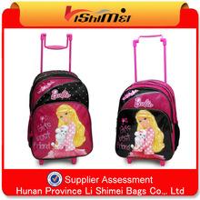 115 Canton Fair best brand kids trolley school bag