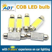 "Hiway auto led festoon C5W 12V 1.53"" 10 x 39mm auto COB led interior lights dome lights car accessories"
