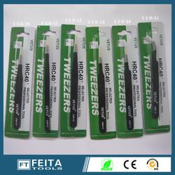 China hand tools stainless steel tweezers / VETUS tweezer