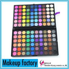 Wholesale eye shadow palette 120 colors shimmer eyeshadow pallet