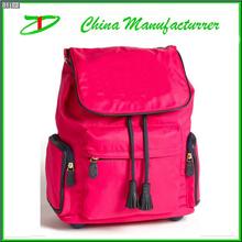 Wheeled school backpack, trendy girls trolley school bag for teenagers