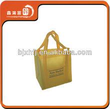 fashion hand sealable gold non woven bag