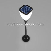 2013 High Quality Plastic New Garden Solar Light Decoration