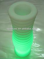 Illuminated led flower vase pot kids night light toys glow in the dark toys