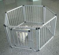aluminum pet playpen rabbit enclosure movable animal fence pen