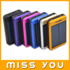 High Quality Colorful Rohs Solar Charger Flashlight Creative Power Bank