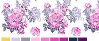 many colors European/India/Vietnam soft handle taffeta fabric for dress or bedding