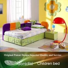 Adjustable bright colour childrens sofa beds JZAE012