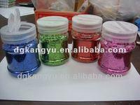 dazzling solvent resistant DIY glitter scatter in flower